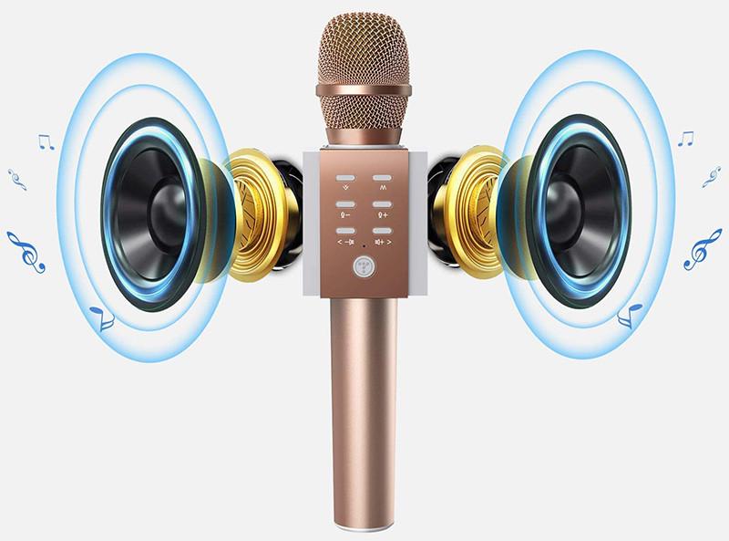 Test TOSING 008 microphone sans fil Bluetooth karaoké