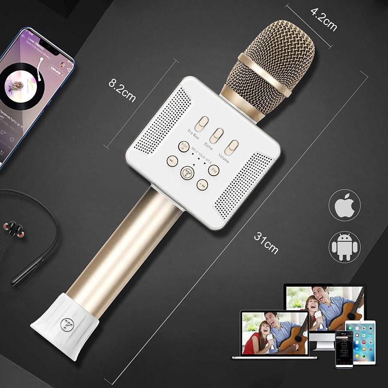 Test TOSING 016 Microphones Karaoké sans fil Haut-parleur 20W Bluetooth Portable KTV