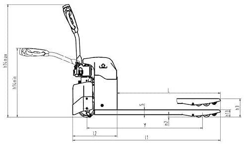 Test TradeDrive Transpalette électrique Transpalette 1,5t
