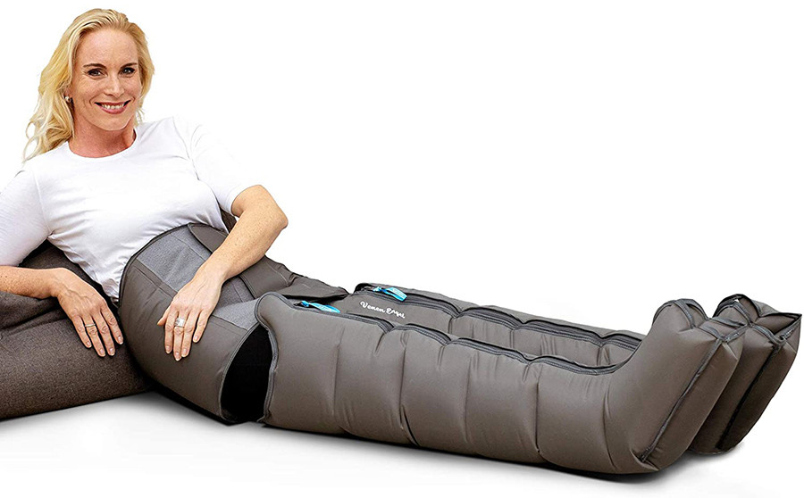 Test Vein Angel 4 Premium Appareil de massage avec bottes et ceinture abdominale