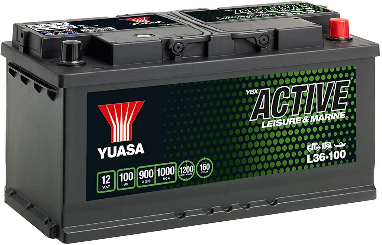 Test - Yuasa L36-100 Batterie pour véhicules de loisir