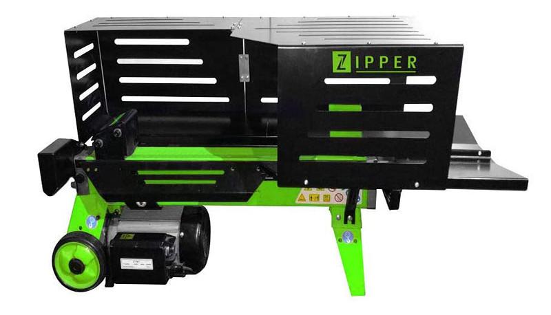 Test Zipper - Fendeuse à bûches horizontale 52 cm 5 tonnes - 230 V 2200 W - ZI-HS5TN - Zipper