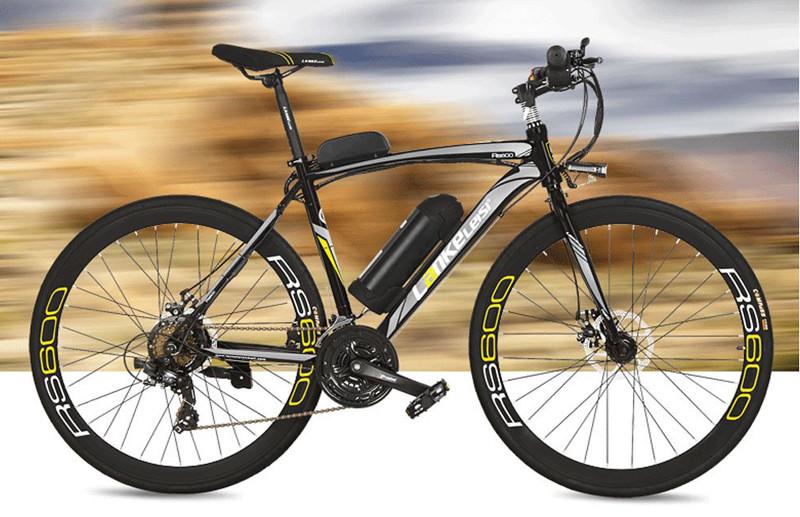 Test du Extrbici Vélo de Ville électrique RS600 700C