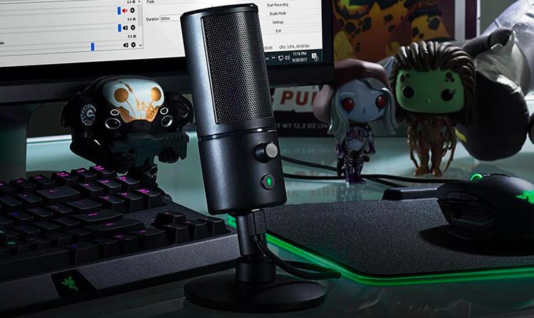 Test du Microphone Razer Seirēn X