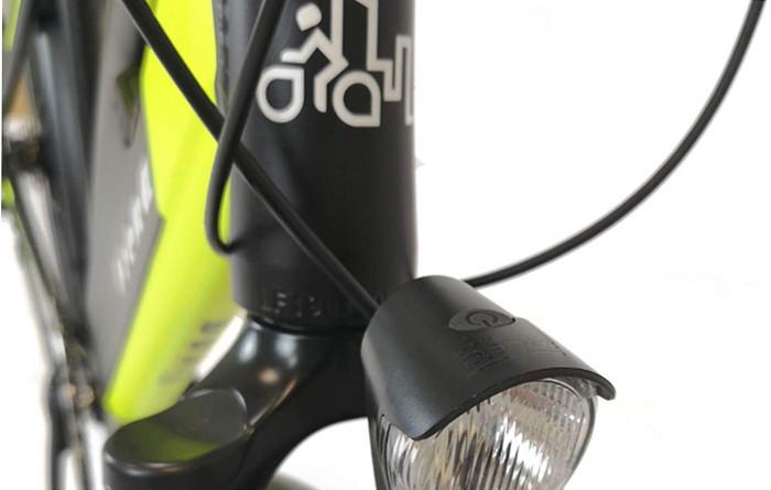 Test du Vélo électrique VTCURBANBIKER modèle VIENA