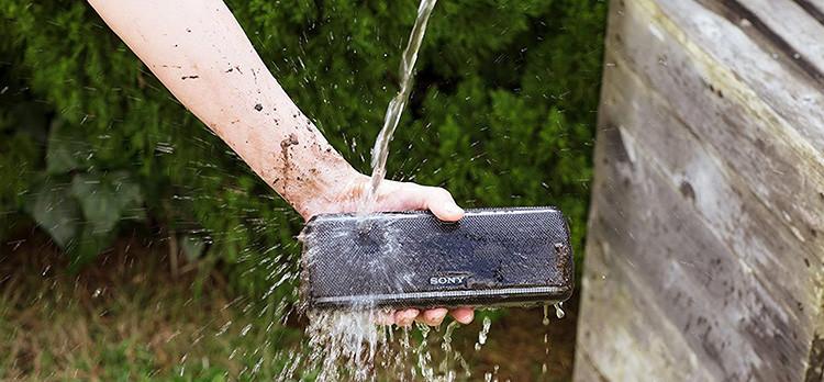 Test et Avis de l'EnceinteBluetooth Waterproof Sony SRS-XB31 avec effet de lumières