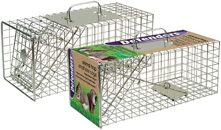 Test piège a Fouine Defenders Animal Trap Cage