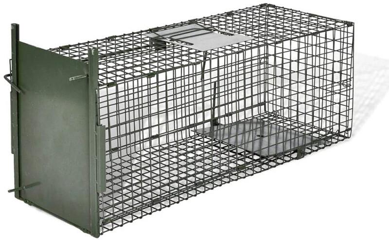 Test vidaXL Attrape à Animaux avec 1 Porte Piège d'animaux Cage Capture d'animaux