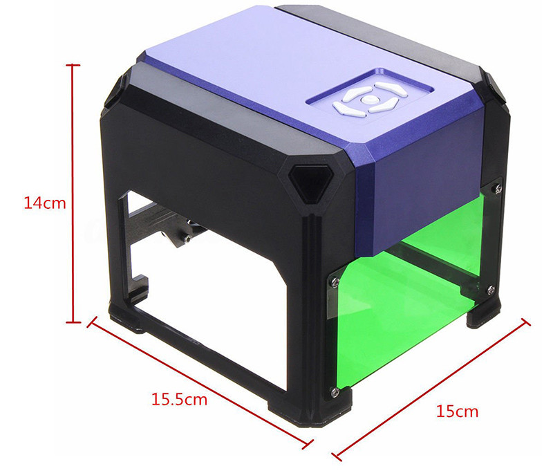 USB Laser Machine de Gravure, Abaobao-Machine à Sculpter Graver