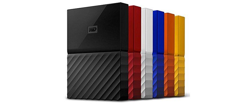WD My Passport Disque dur Externe Portable USB 3.0