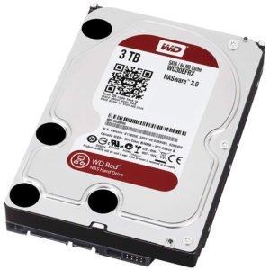 WD Red Desktop WD30EFRX Disque dur interne 3.5 SATA III IntelliPower