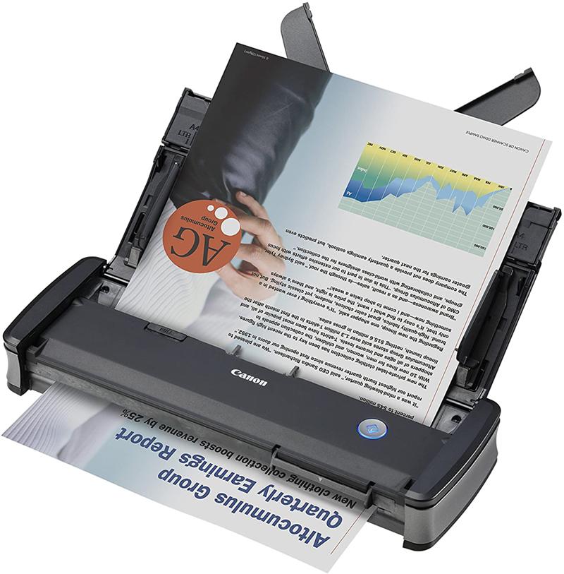 avis - Canon – P-215II – Scanner de Document