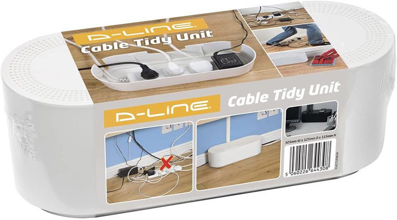 avis D-Line Boîte de Rangement pour Câbles