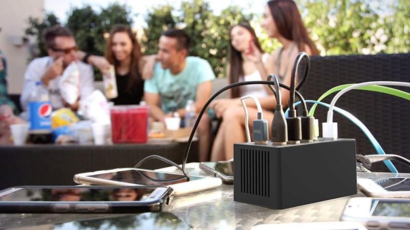 avis - Sabrent Chargeur Rapide 60 Watts (12 A). Grande capacité de 10 Ports USB