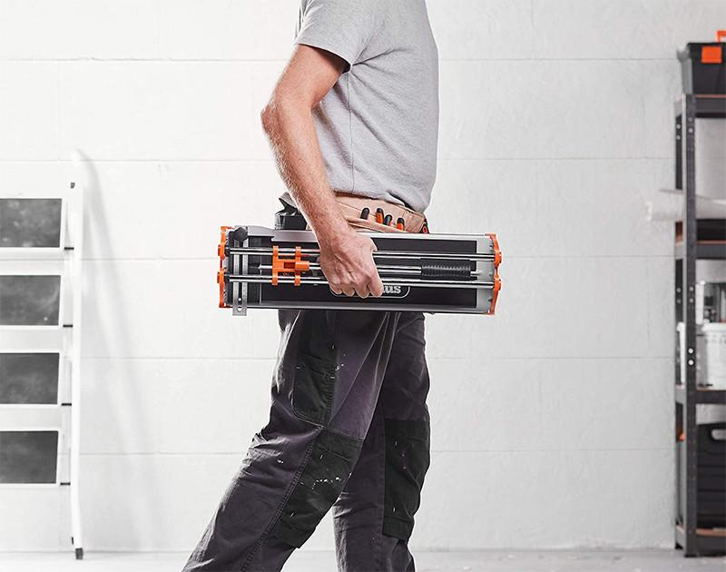 avis - VonHaus Coupe-carreaux manuel 430 mm - roue de rayage en carbure de tungstène - guide de mesure - coupe la porcelaine, la céramique, les sols vitrifiés, le carrelage et les carreaux