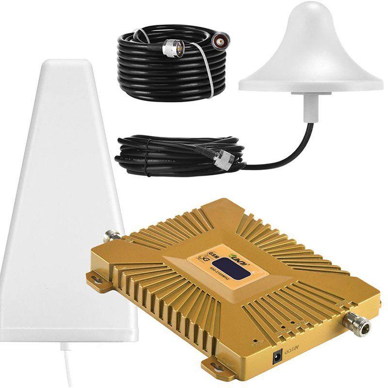 avis - Yuanj Amplificateur Signal Téléphone Portable Double Bande Répéteur GSM 2100MHz W-CDMA 3
