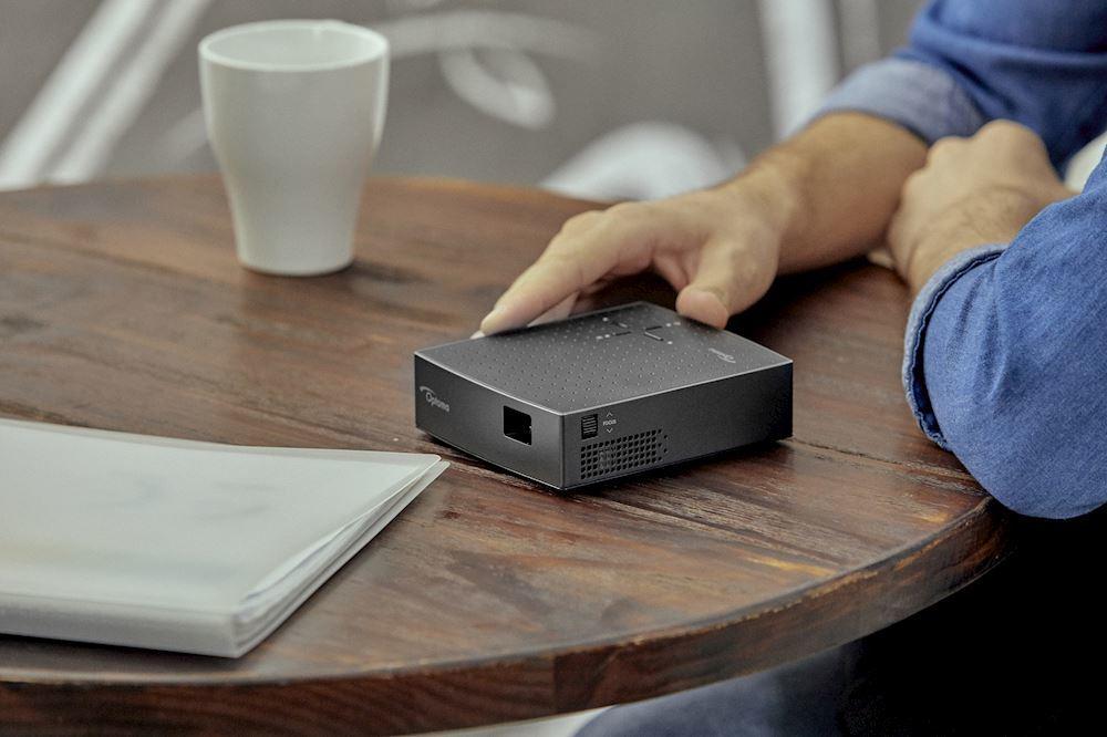 test Optoma WXGA LV130 pico vidéo projecteur compact