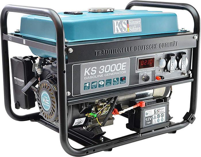 test avis test Groupe électrogène à essence KS 3000E