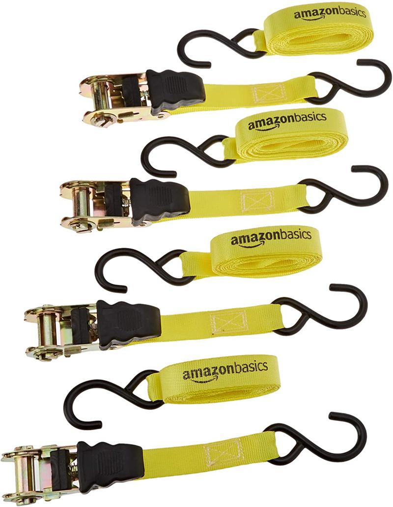 test - AmazonBasics – Sangle à cliquet – Lot de 4