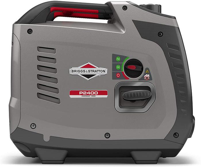 test Groupe électrogène à onduleur portable à essence PowerSmart Series Inverter P2400 Briggs & Stratton