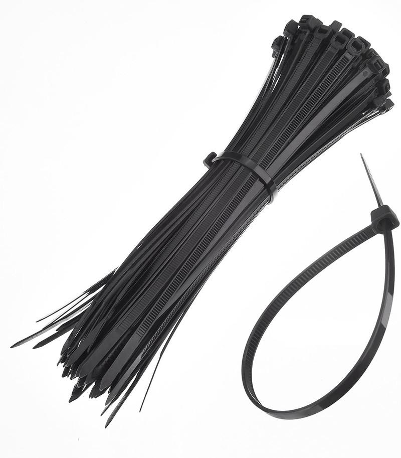 test - Paquet de 100 Zip Tie Adhésifs Supports Auto-Adhésifs Supports de Base de Serre-Câbles avec Attache-Câble Universel
