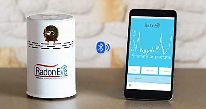 test RadonSTOP - RadonEye - Le radon pour votre maison