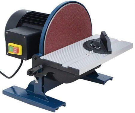 test avis - vidaXL Ponceuse Disque 550 W 254 mm Électrique