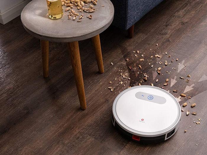 test et avis LEFANT Aspirateur Robot Laveur M501A