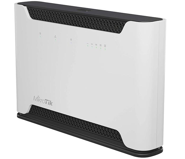 test et avis MikroTik Chateau RBD53G-5HACD2HND-TC&EG12-EA Licence RouterOS L4 Version Internationale