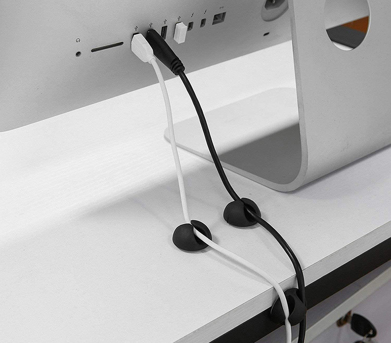 test et avis U-horizon 12 Pack Clips de Câble durable, Rangements de câbles et serre-câbles