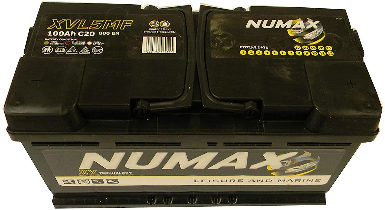 test - Numax Marine Loisirs, Dual Xvl5Mf Batterie Bateaux, Camping-Cars, Loisirs, 12V 100Ah 800 Amps (En