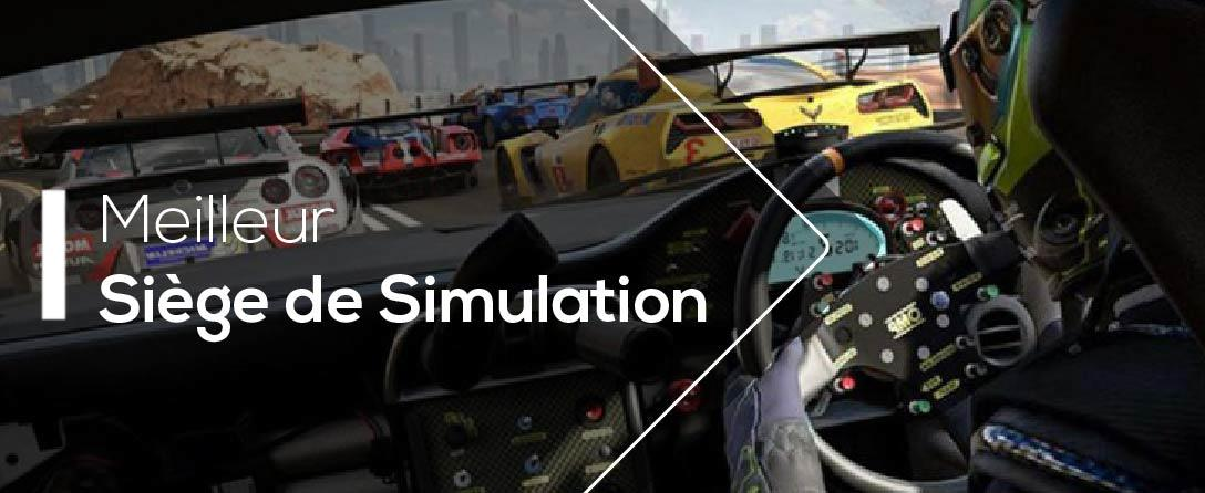 Meilleur Siège de Simulation de course